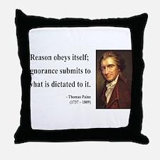 Thomas Paine 23 Throw Pillow