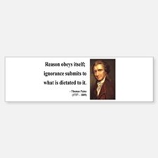 Thomas Paine 23 Bumper Bumper Bumper Sticker