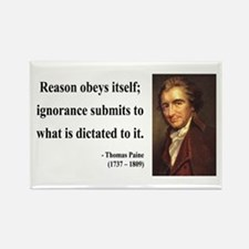 Thomas Paine 23 Rectangle Magnet