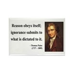 Thomas Paine 23 Rectangle Magnet (10 pack)