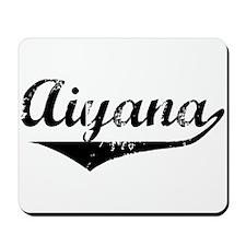 Aiyana Vintage (Black) Mousepad