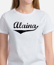 Alaina Vintage (Black) Women's T-Shirt