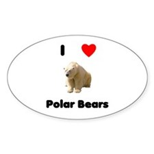 I love polar bears Decal
