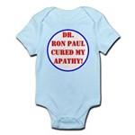 Ron Paul cure-2 Infant Bodysuit