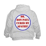 Ron Paul cure-2 Kids Sweatshirt