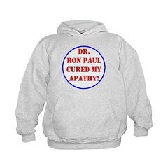 Ron Paul cure-2 Hoodie