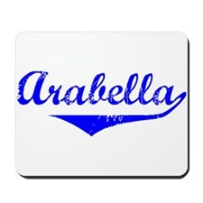Arabella Vintage (Blue) Mousepad