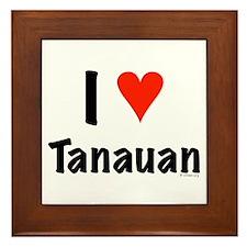 I love Tanauan Framed Tile