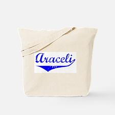 Araceli Vintage (Blue) Tote Bag