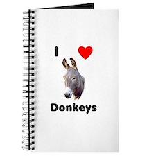 I love donkeys Journal