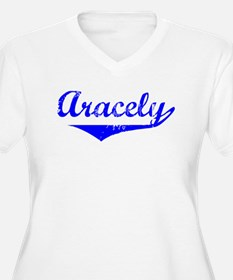 Aracely Vintage (Blue) T-Shirt