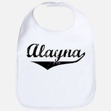 Alayna Vintage (Black) Bib