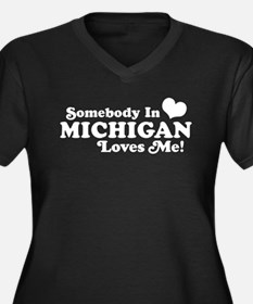 michiganloves7 Plus Size T-Shirt