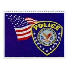 Joe's Police Station Wall Calendar