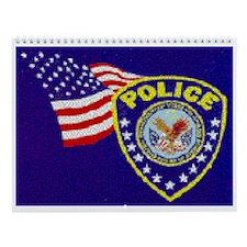Joe's Police Station Wall Calendar