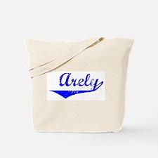 Arely Vintage (Blue) Tote Bag
