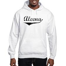 Aleena Vintage (Black) Hoodie Sweatshirt