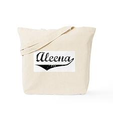 Aleena Vintage (Black) Tote Bag