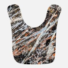 Copper Ore Polyester Baby Bib
