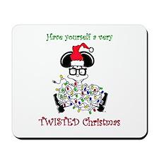 Twisted Christmas Mousepad