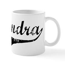 Alejandra Vintage (Black) Coffee Mug