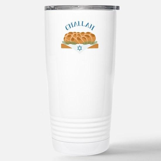 Holiday Challah Travel Mug