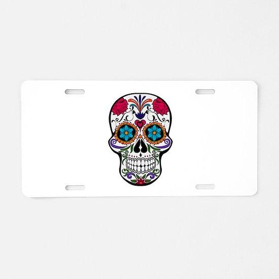 SUGAR Aluminum License Plate