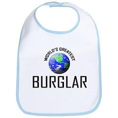World's Greatest BURGLAR Bib