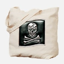 Jolly Rogers Embossed Tote Bag