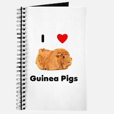 I love guinea pigs Journal