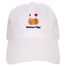 I love guinea pigs Baseball Cap
