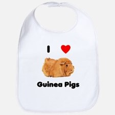 I love guinea pigs Bib