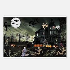 Skeleton Graveyard Postcards (Package of 8)