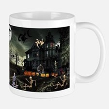 Skeleton Graveyard Mugs