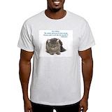 Cat Mens Light T-shirts