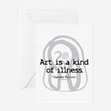 Art a Kind of Illness Greeting Cards (Pk of 10)