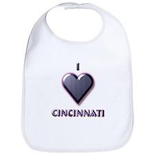 I Love Cincinnati #5 Bib