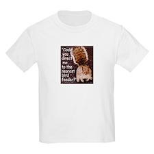 Squirrel Bird Kids T-Shirt
