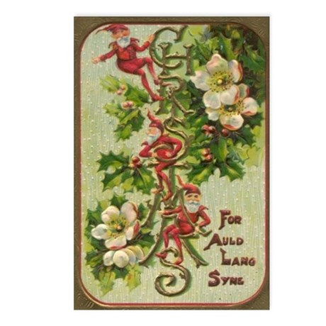 1906 Holiday Postcards (Package of 8)