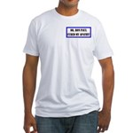 Ron Paul cure-1 Fitted T-Shirt