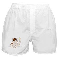 Bulldog Champagne Boxer Shorts