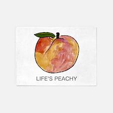 Life's Peachy 5'x7'Area Rug