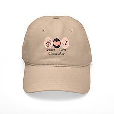 Peace Love Chemistry Baseball Cap