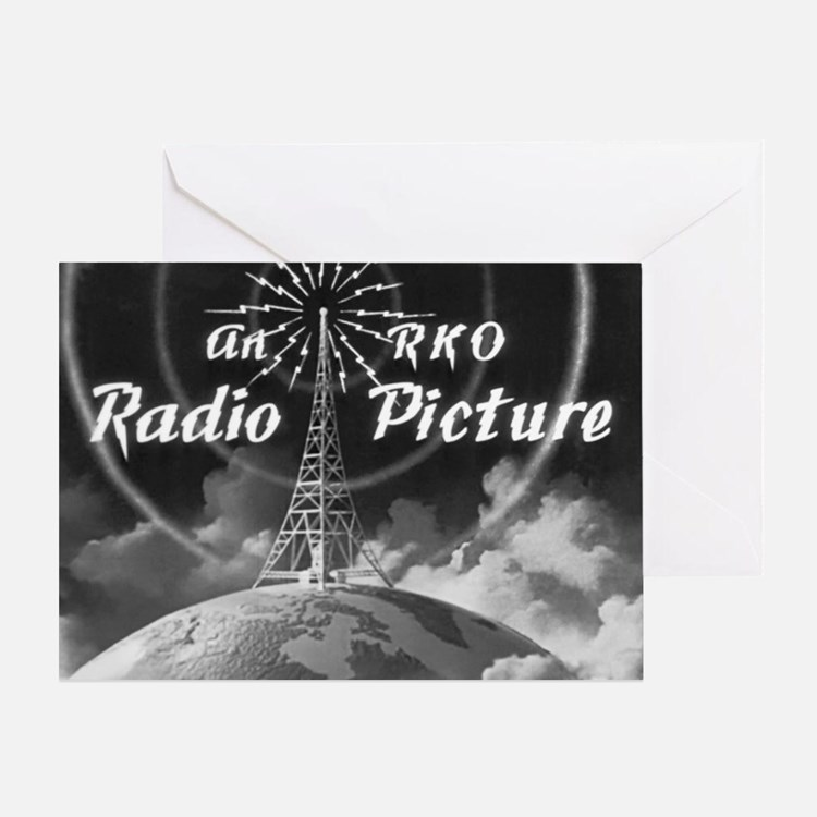 Cute Cinema vintage Greeting Card