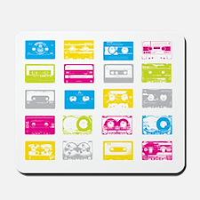 80's Cassettes Mousepad