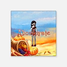 "Adorkable Square Sticker 3"" X 3"""