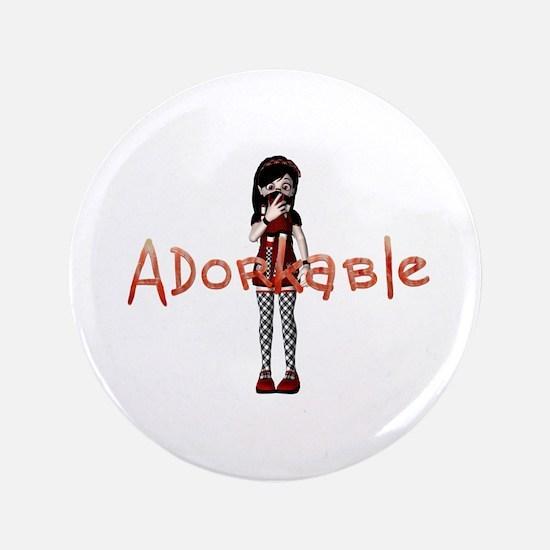 Adorkable Button