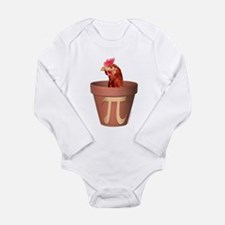 Chicken Pot Pi Infant Creeper Body Suit