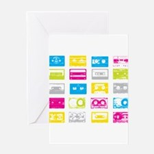 80's Cassettes Greeting Cards