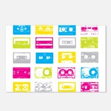 80's Cassettes Postcards (Package of 8)